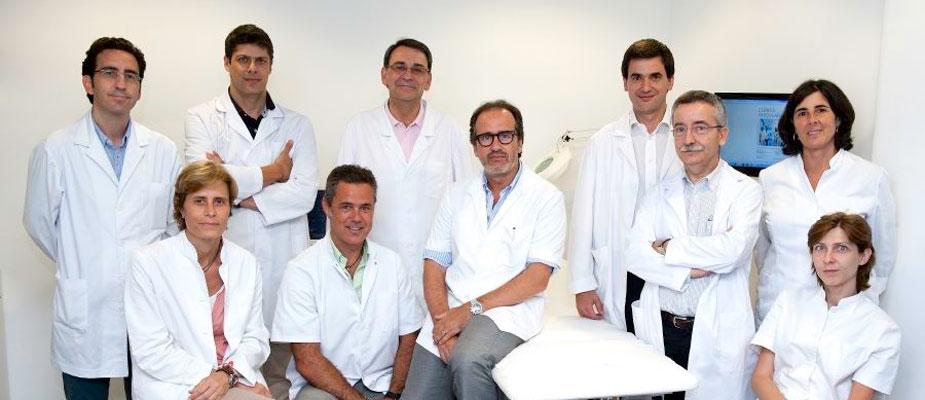 El Equipo médico